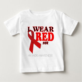 HIV AIDS AWARENESS TEMPLATE .png Baby T-Shirt