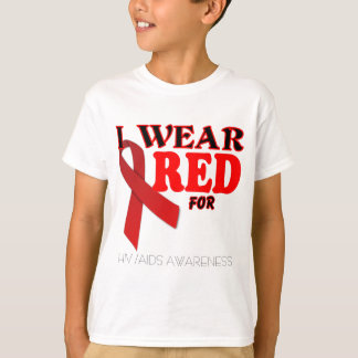 HIV AIDS AWARENESS TEMPLATE .png T-Shirt