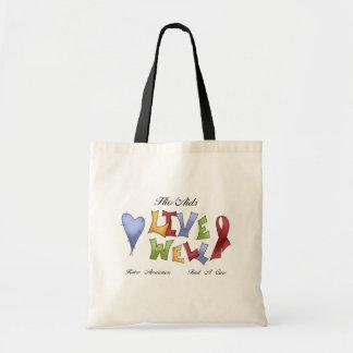 HIV/ AIDS Awareness Tote Bag