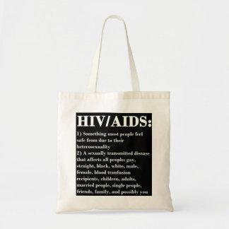 HIV/AIDS BOLSA TELA BARATA