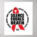 HIV/AIDS: El silencio iguala muerte Poster