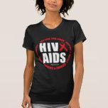 HIV/AIDS Live Love Laugh Tees