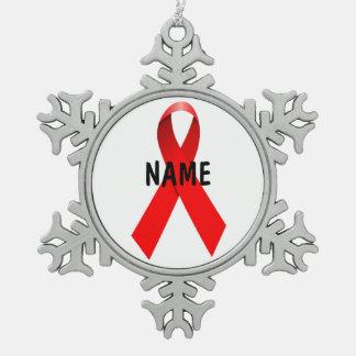 HIV AIDS Memorial Tribute Ornament