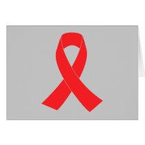 HIV AIDS Ribbon Cancer Awareness