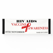 Hiv Aids Vaccine Awareness | Personalize Banner
