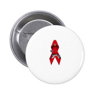HIV and AIDS Survivor Buttons