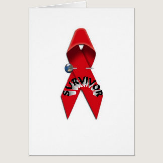 HIV and AIDS Survivor Card