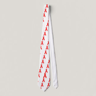 HIV AWARENESS / AIDS RIBBON TIE