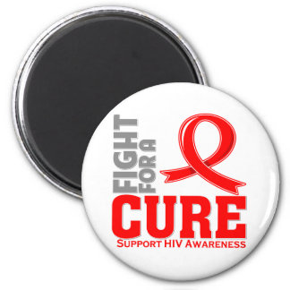 HIV Fight For A Cure Fridge Magnet