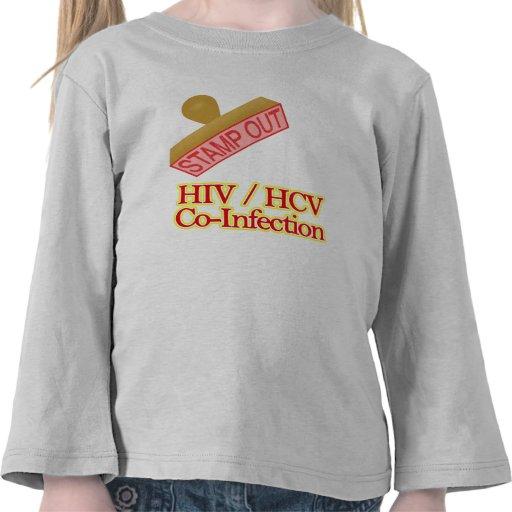 HIV -  HCV Co-Infection Shirts