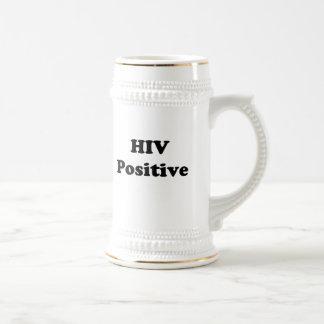 HIV Positive Beer Stein