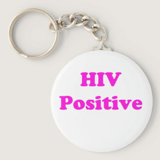 HIV Positive Keychain