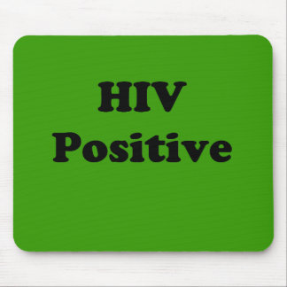HIV Positive Mouse Pad