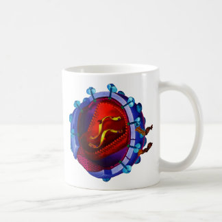 HIV Virus  ( HIV / AIDS Charity ) Coffee Mug