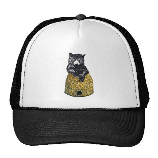 hive bear trucker hat