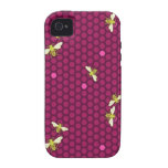 Hive - Raspberry - iPhone Case Case-Mate iPhone 4 Cover