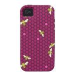 Hive - Raspberry - iPhone Case Case-Mate iPhone 4 Cover