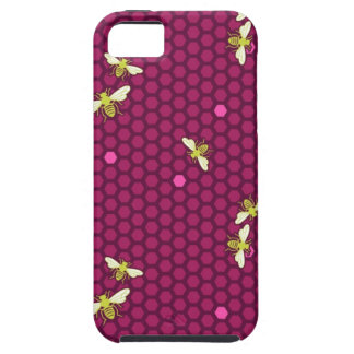 Hive - Raspberry - iPhone Case iPhone 5 Cases