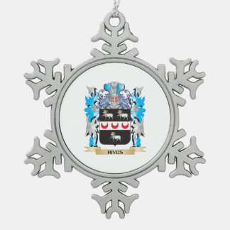 Hives Coat of Arms - Family Crest Ornament