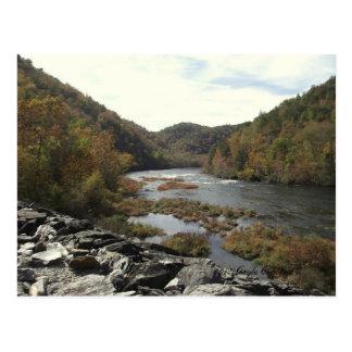 Hiwassee River at Appalachia Powerhouse Postcard