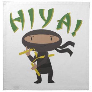 Hiya Ninja Cloth Napkin