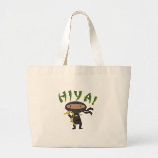 Hiya Ninja Large Tote Bag