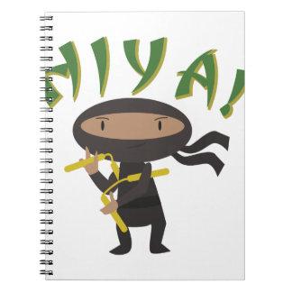 Hiya Ninja Notebook