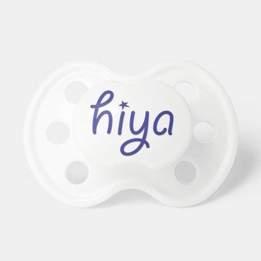 Hiya Pacifiers
