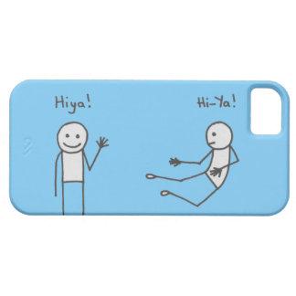 Hiya! Phone Case Blue