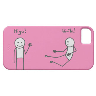 Hiya! Phone Case Pink