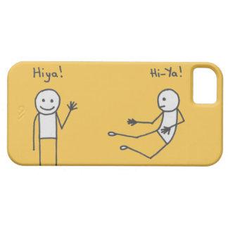 Hiya! Phone Case Yellow