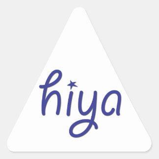 Hiya Triangle Stickers