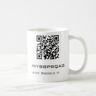 hiybbprqag - Just Google It Coffee Mug