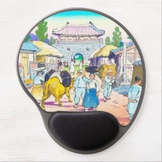 Hiyoshi Mamoru Korean  Market japanese scenery art Gel Mouse Pad