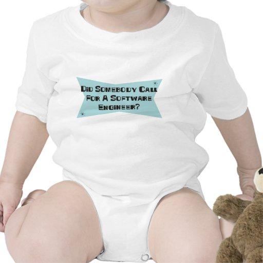 Hizo alguien llamada para una Software Engineer Traje De Bebé