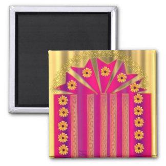 """Hizo"" diseño del regalo a mano Iman De Nevera"