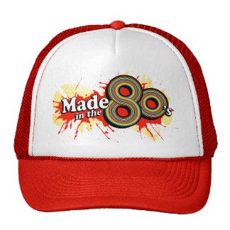 """""""Hizo en gorra retro del diseño de los años 80"""""""