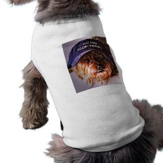 ¿Hizo usted impulso hoy? Camiseta del perrito Playera Sin Mangas Para Perro