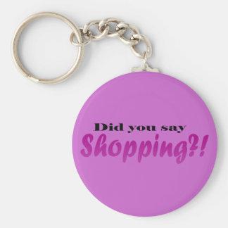 ¡Hizo yoou dicen compras?! Llaveros Personalizados