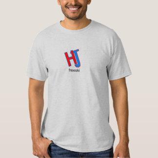 HJ freeski basic logo Tee Shirts