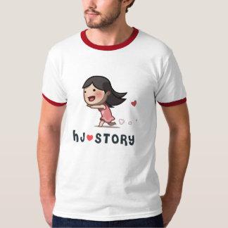 HJ-Story Running Girl Tee