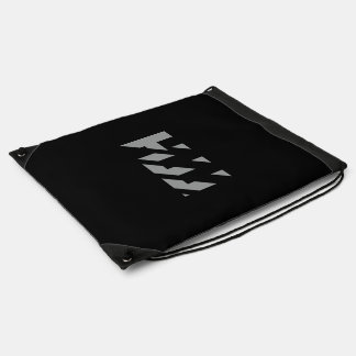 HJJ Logo Drawsting Backpack