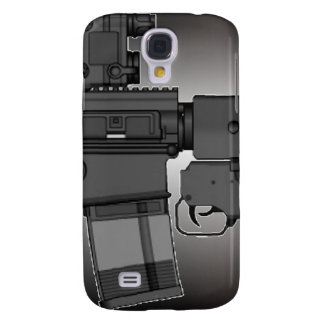 HK417 with M203 Samsung Galaxy S4 Cases