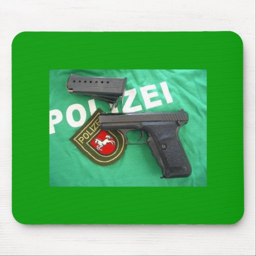 HK P7 Lower Saxony Germany Mousepad