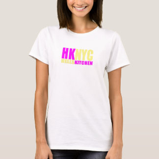 HKNYC yellow and pink T-Shirt