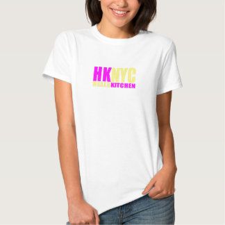 HKNYC yellow and pink Tee Shirts