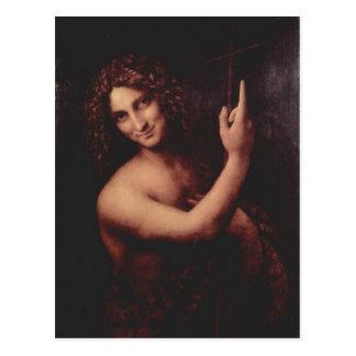 Hl de Leonardo da Vinci. ¿Der T de Juan? ufer 1513 Tarjetas Postales