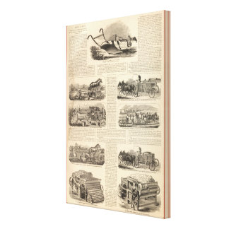 HL Emory and Sons Canvas Print