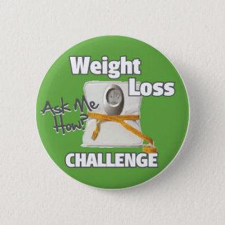 HL Weight Loss Challenge Pinback Button