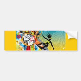 hlhw_002 car bumper sticker